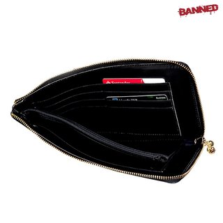 BANNED Black Cut Anchor Wallet