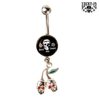 LUCKY 13 Bauchnabel Piercing Cherry & Built For Speed
