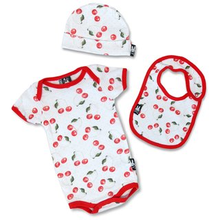 SIX BUNNIES Baby Kirsch Set 3- teilig