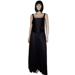 SINISTER Black Rose Dress
