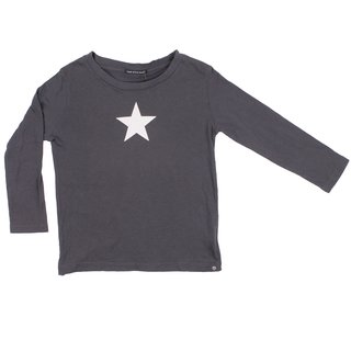 ROCK STAR BABY Kinder Langarm Shirt Big Star shadow grey