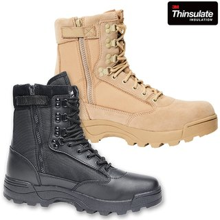 BRANDIT Tactical Boots Zipper