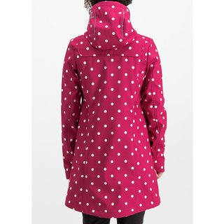 BLUTSGESCHWISTER Wild Weather Long Anorak pink point