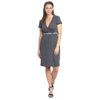 VIVE MARIA La Gitane En Ville Dress blue allover