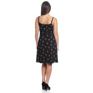 PUSSY DELUXE Sweet Cherry Dress black