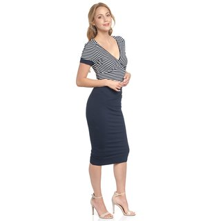 VIVE MARIA Dover Dress blue/cream