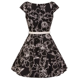 HELL BUNNY Mistral Mini Dress black