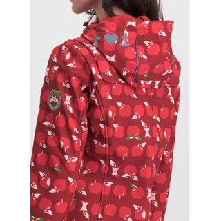 BLUTSGESCHWISTER Wild Weather Long Anorak eat the apple