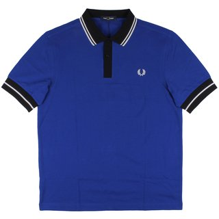 FRED PERRY Contrast Trim Polo Shirt bright regal