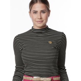 MADEMOISELLE YéYé In A Striped Mood Top black/ white