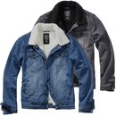 BRANDIT Sherpa Denim Jacket