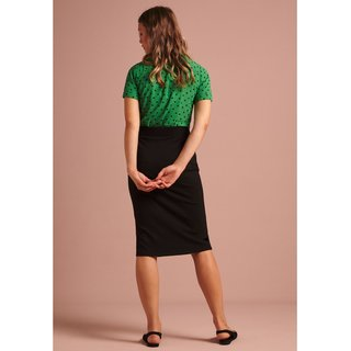 KING LOUIE Tube Skirt Milano Uni black