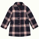 PETIT LOUIE Anais Coat Check-In blue