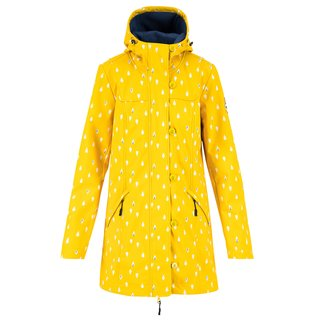 BLUTSGESCHWISTER Wild Weather Long Anorak north sea drops