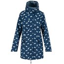 BLUTSGESCHWISTER Wild Weather Long Anorak bonnies ocean