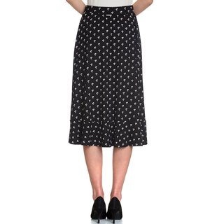 VIVE MARIA Petite Marguerite Skirt black allover