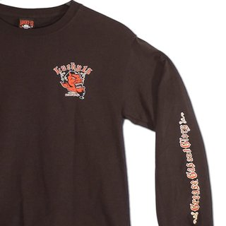 Lucky 13 Longsleeve Tee Grease Gas and Glory