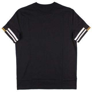 FRED PERRY Abstract Cuff T-Shirt black