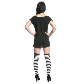 Nightmare Before Christmas King Jack Tee for Women black