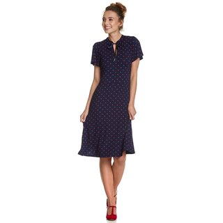VIVE MARIA Mon Petit Paris Dress blue allover