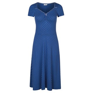 VIVE MARIA Nizza Kleid blue allover