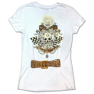 Lucky 13 Girl Vintage T-Shirt Big Bang