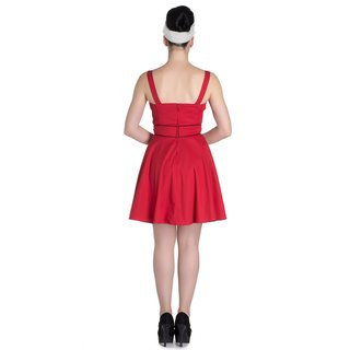 HELL BUNNY Vanity Dress red