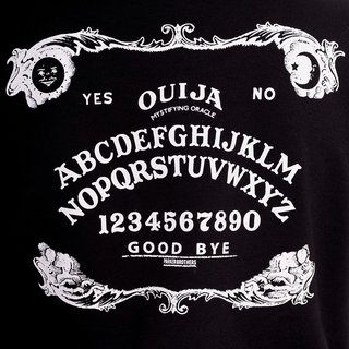 HELL BUNNY Ouija Jacket black/ white