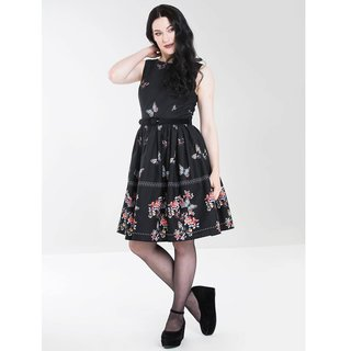 HELL Bunny Laetica Mid Dress black