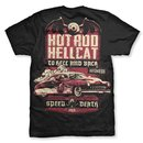 HOTROD HELLCAT Men Shirt Speed Death black