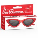 SIX BUNNIES Kids Sunglasses Cat Eye red