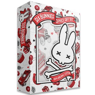 SIX BUNNIES Cherry Garage Baby Set