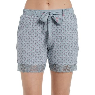 VIVE MARIA Ice Princess Short pearl blue allover