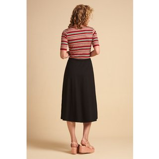 KING LOUIE Juno Skirt Ecovero Classic black