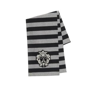 Rock Star Baby Scarf Guitar Crest striped