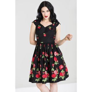HELL BUNNY Antonia Mid Dress black