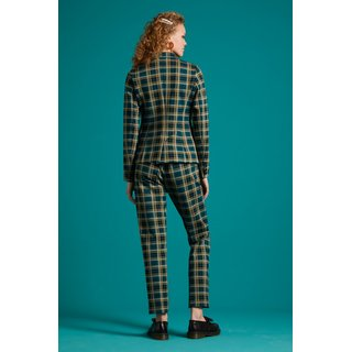 KING LOUIE Daisy Blazer Rodeo Check dragonfly green