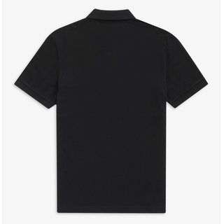 FRED PERRY Embroidered Panel Polo black