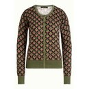 KING LOUIE Cardi Roundneck Emperor olive green