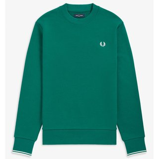 FRED PERRY Crew Neck Sweatshirt light petrol