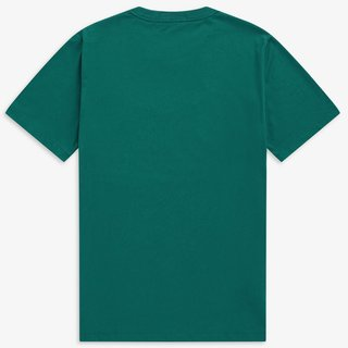 FRED PERRY  Graphic T-Shirt light petrol