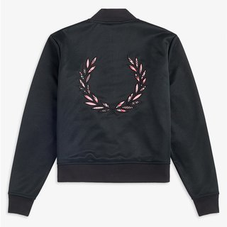 FRED PERRY Laurel Wreath Bomber Jacket black