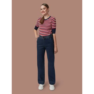 MADEMOISELLE YéYé Knit Top Stripes blue/white/red