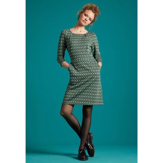 KING LOUIE Mona Dress Deuce pine green