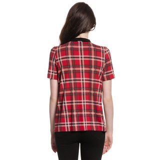 VIVE MARIA British Rebel Blouse red allover
