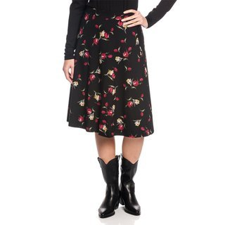 VIVE MARIA Evas Garden Skirt black allover
