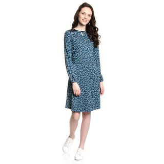 VIVE MARIA Maria Blueberry Hill Dress blue allover