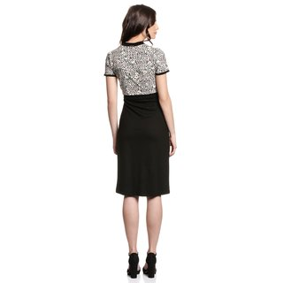 VIVE MARIA Flower Leo Asia Dress leo allover/black
