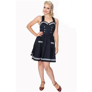 BANNED Where To Next Dress navy