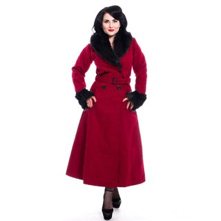 ROCKABELLA Bianca Coat red